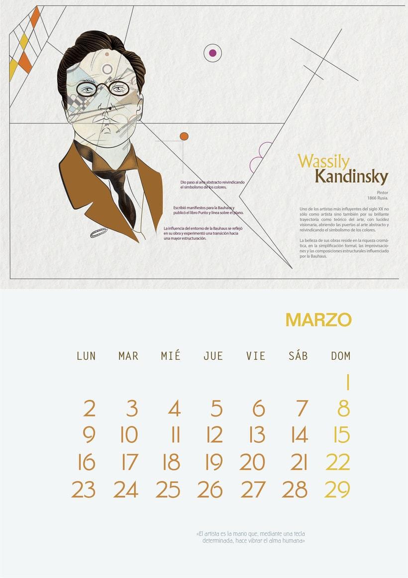"""Calendar """"El espíritu del viento"""" 3"""