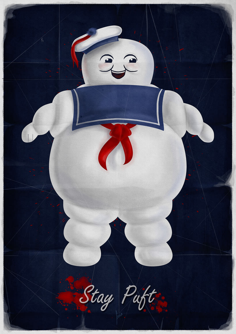 Stay Puft! Marshmallow Man 0