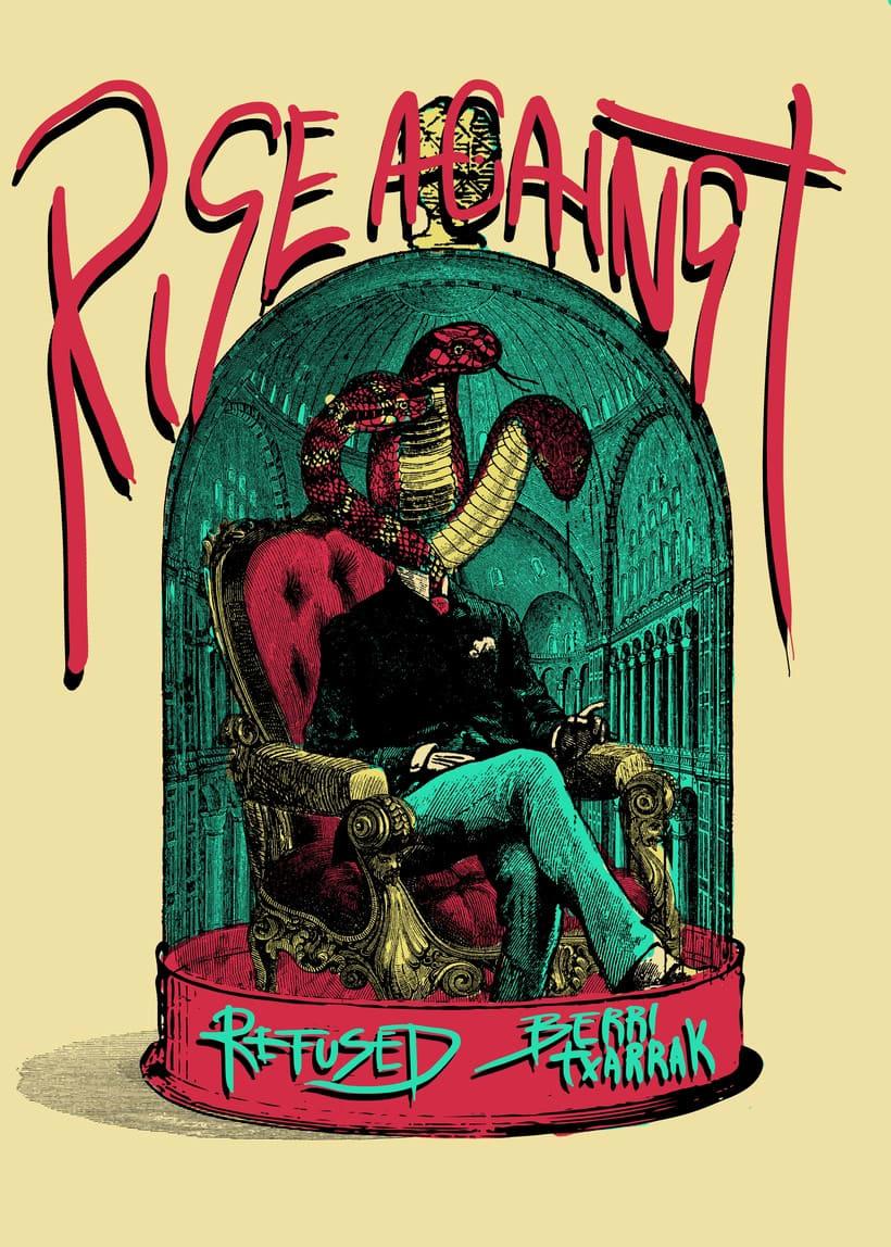 Rise Against/ Refused/ Berri Txarrak  2