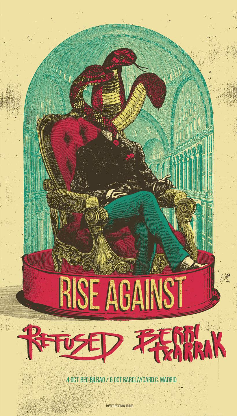 Rise Against/ Refused/ Berri Txarrak  3