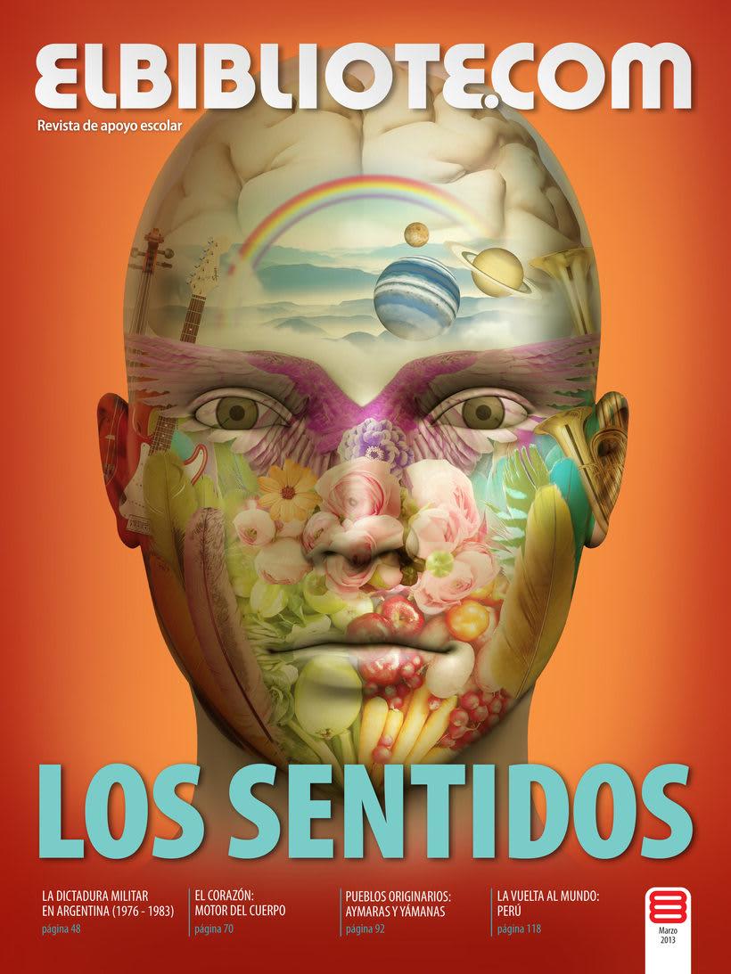 Tapa revista- Idea + Ilustración + diseño 6