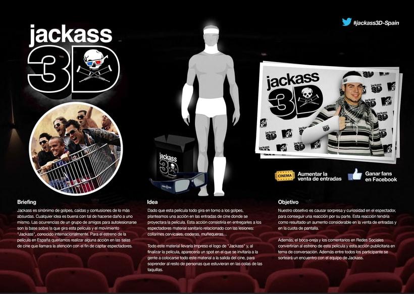 """Acción de marketing para """"Jackass 3D"""" -1"""