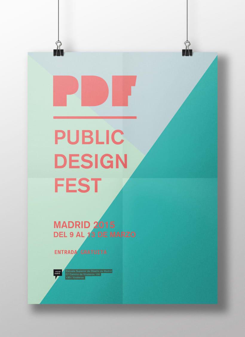 PUBLIC DESIGN FEST / identidad 1