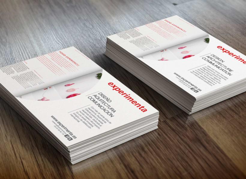 EXPERIMENTA MAGAZINE / flyers -1