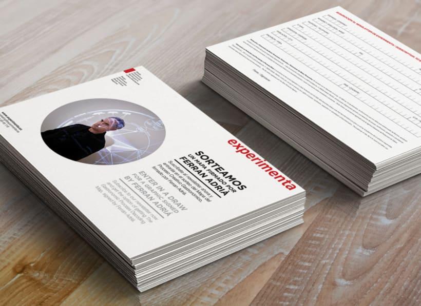 EXPERIMENTA MAGAZINE / flyers 0
