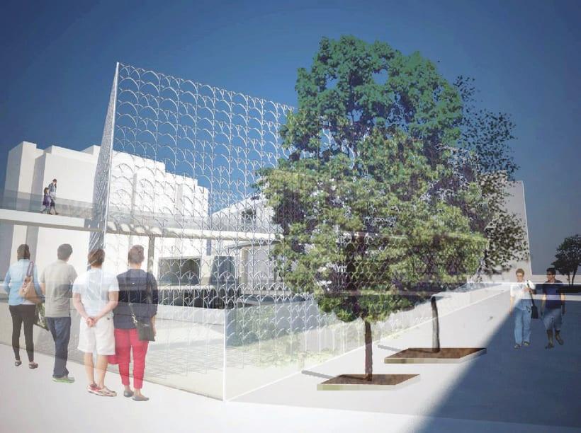 Proyecto 5: Biblioteca en la area de la Villa Deliella en Palermo -1