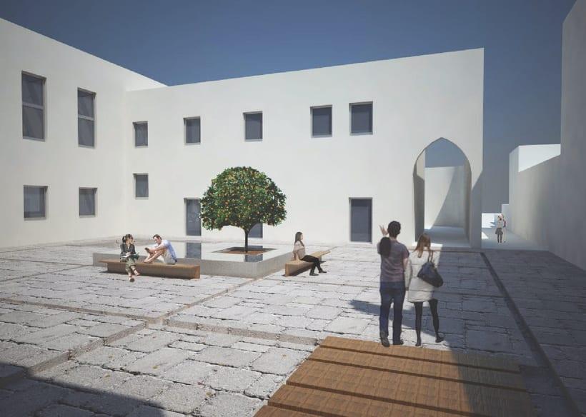 Proyecto 5: Biblioteca en la area de la Villa Deliella en Palermo 2