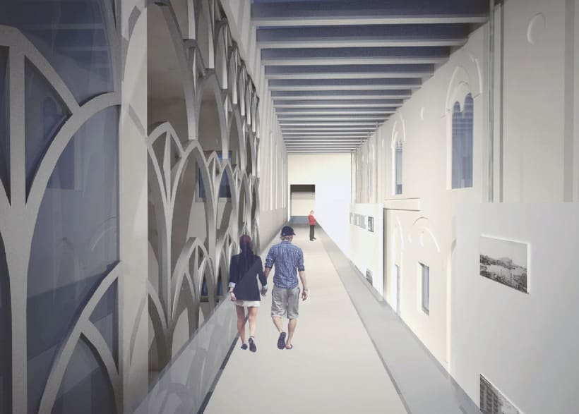 Proyecto 5: Biblioteca en la area de la Villa Deliella en Palermo 3
