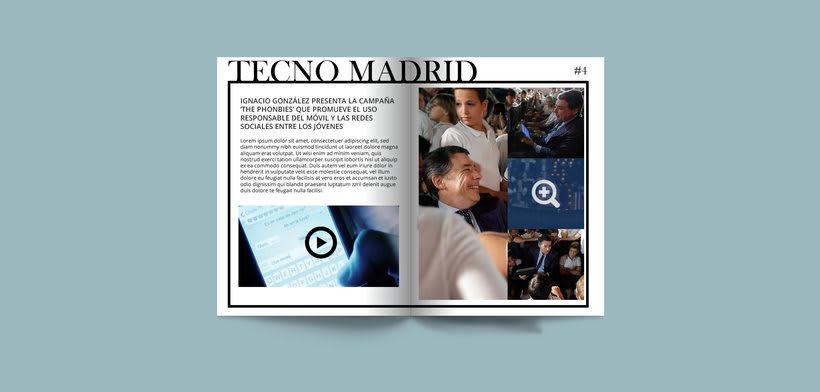 Tecno Madrid - Revista de la Comunidad de Madrid 8