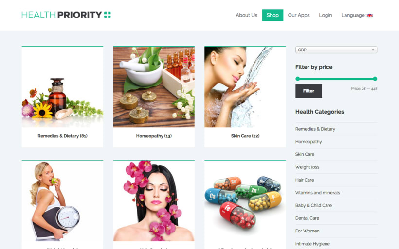 Health Priority UK. Work with a wide range of health, beauty & personal care products but have a particular interest in natural, environmentally-friendly products. 0