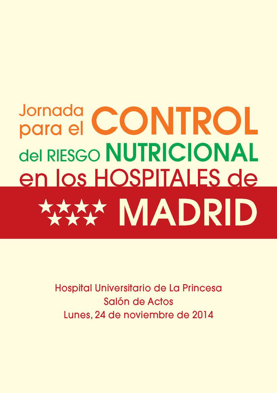 Jornada para el Control del Riesgo Nutricional 1