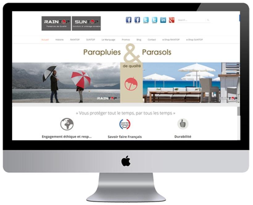 Parasoles SUNTOP & Paraguas RAINTOP 1