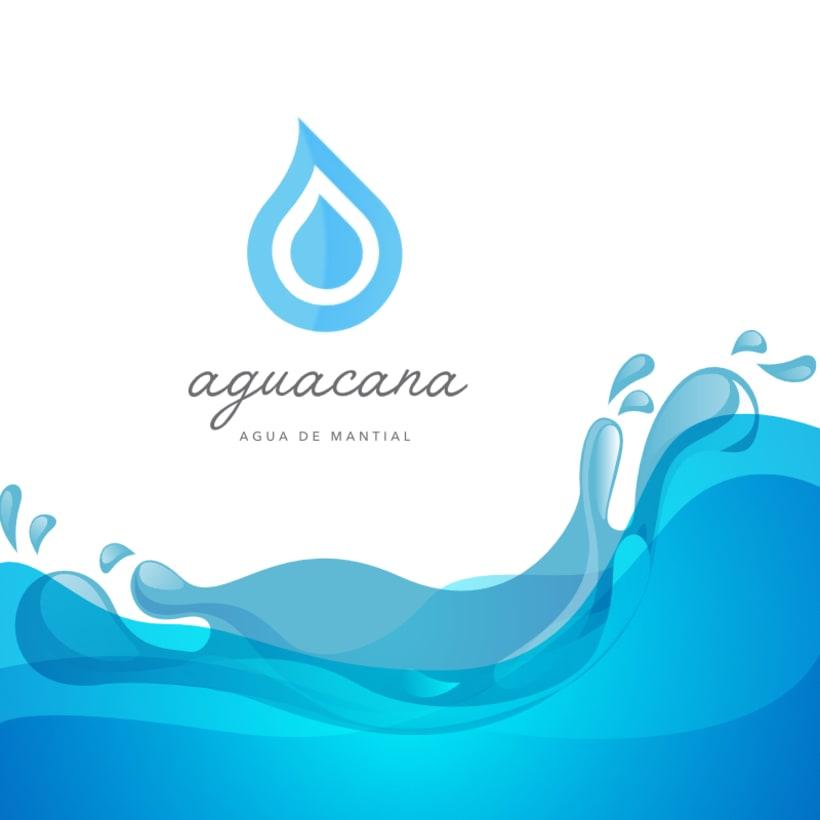 Aguacana, concepto y diseño de nueva imagen para empresa embotelladora de agua de manantial -1