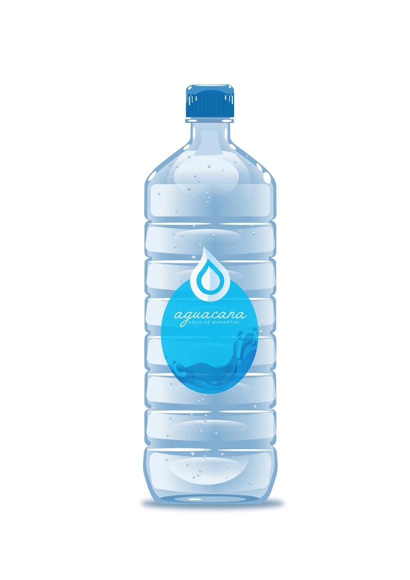 Aguacana, concepto y diseño de nueva imagen para empresa embotelladora de agua de manantial 1