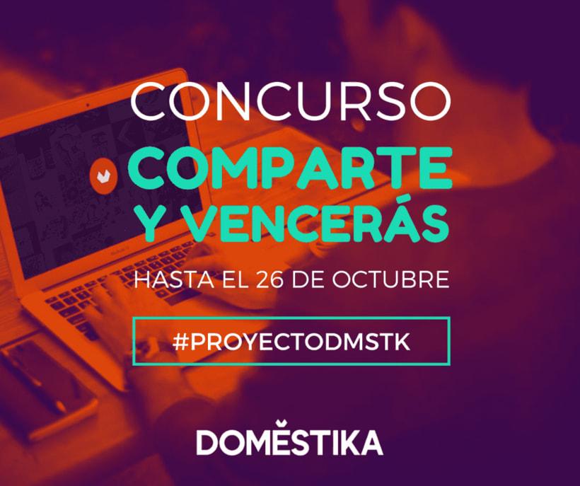 Comparte y vencerás: muestra al mundo tu proyecto final y gana un curso de Domestika 1