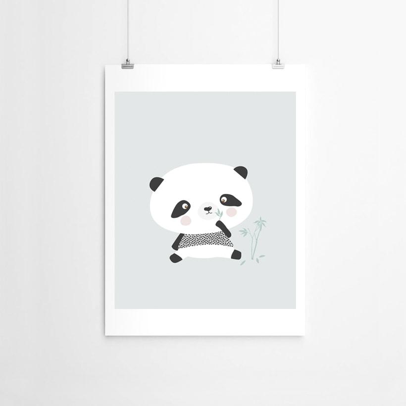 Panda bear, Arctic Fox & Seal 0