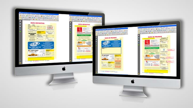 Maquetación y revisión de guías de Páginas Amarillas 0