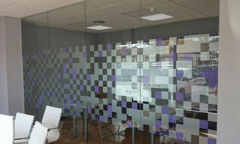 Diseño Vinilos Interiores-Clínica Dental | Domestika