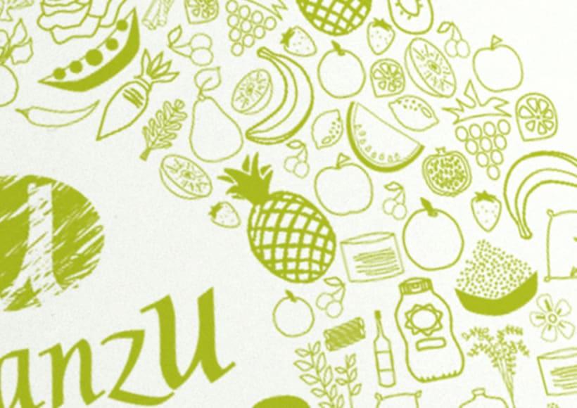 Ilustración para promocionar marca 2