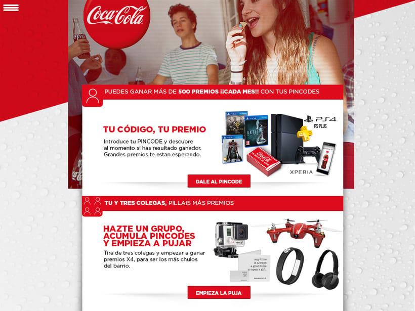 Coca-Cola On the go/ web -1