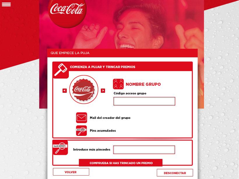 Coca-Cola On the go/ web 2