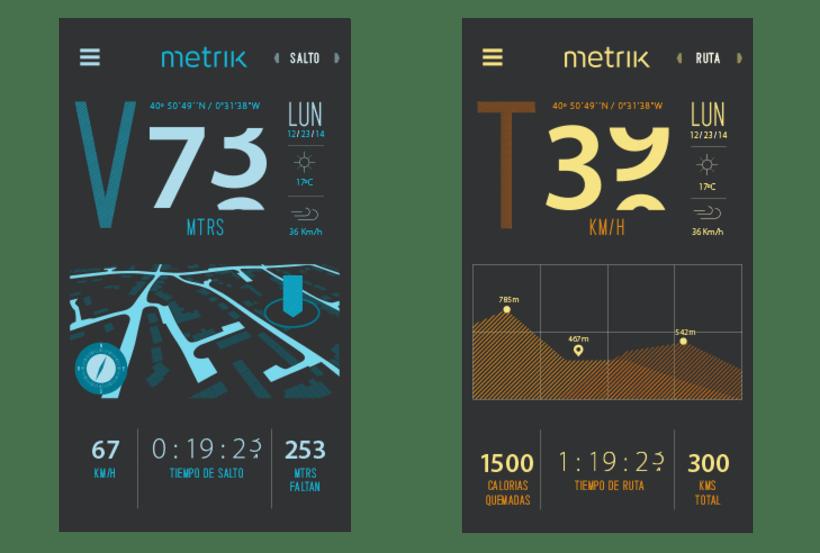 Metrik. Una App para medir todo tu esfuerzo. Proyecto de estudios coordinado por Marc Segarra y Marc Mallafré 5
