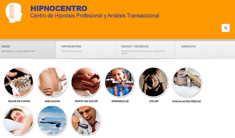 Desarrollo web:  www.hipnocentro.com 0
