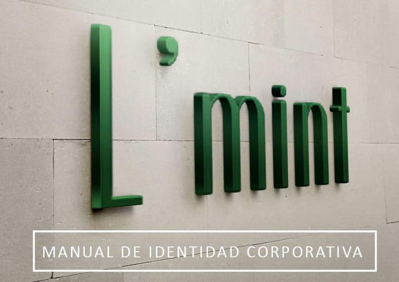 L'mint. Manual de Identidad Corporativa. Branding 0