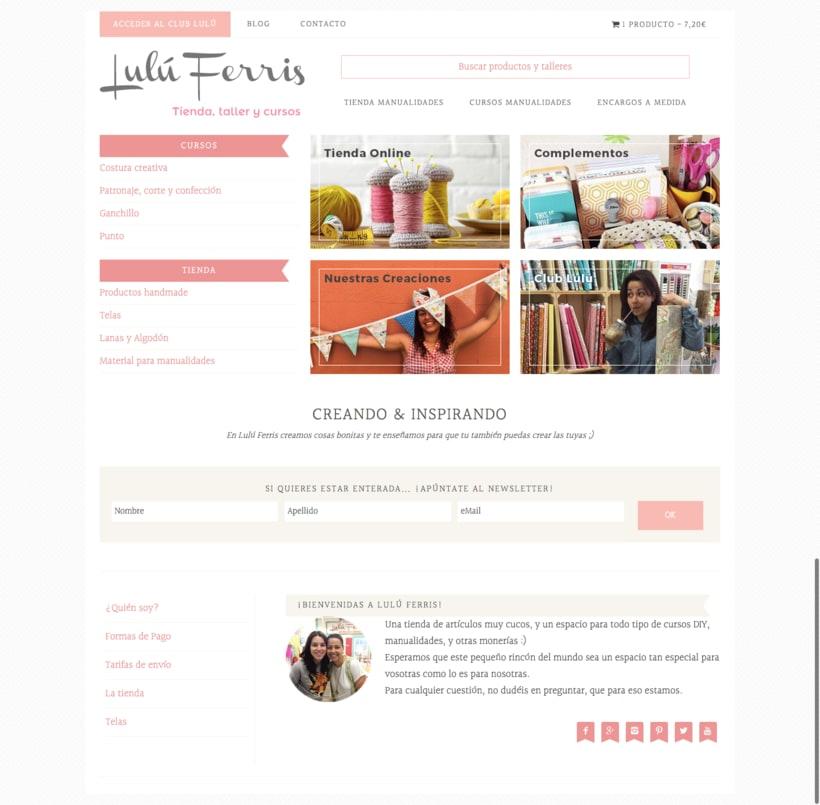Mi Proyecto del curso Creación de una tienda online en WordPress 0