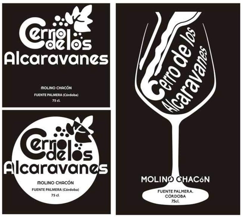 Diseño etiquetas tres vinos, Molino Chacón, Córdoba. 4