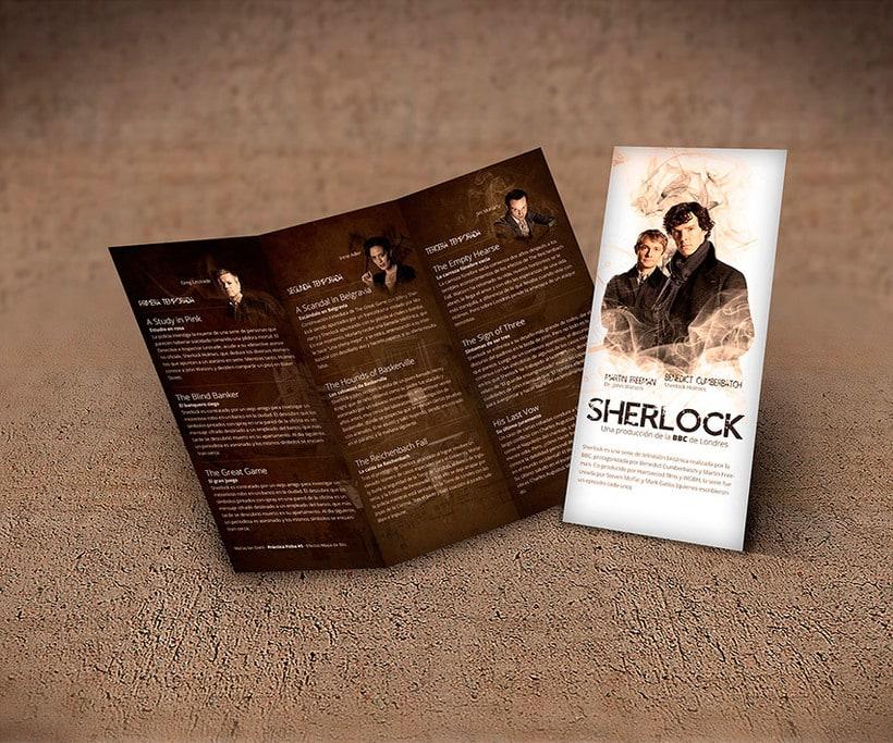 Trifold - Sherlock BBC Serie 2