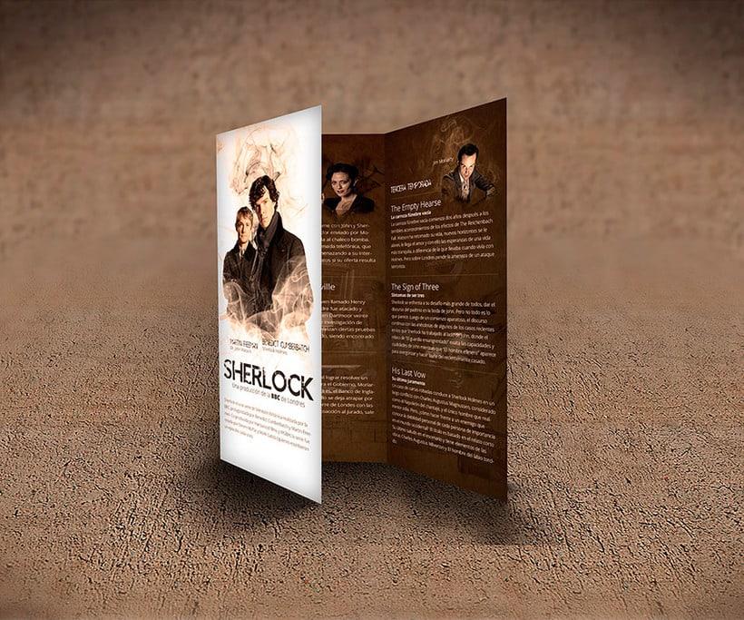 Trifold - Sherlock BBC Serie 3