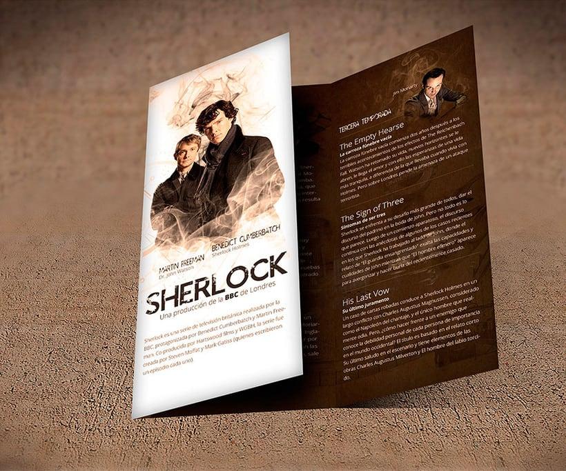 Trifold - Sherlock BBC Serie 0