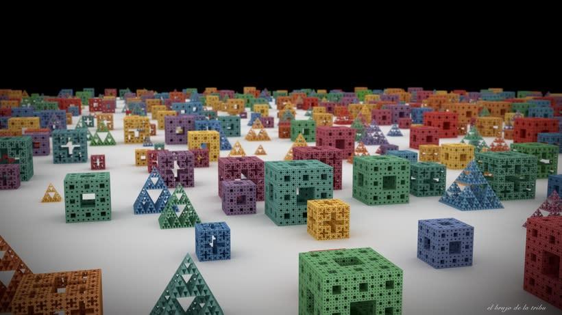 Figuras fractales en 3D -1
