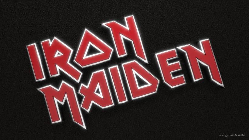 Letras del logo de Iron Maiden (fanart) -1