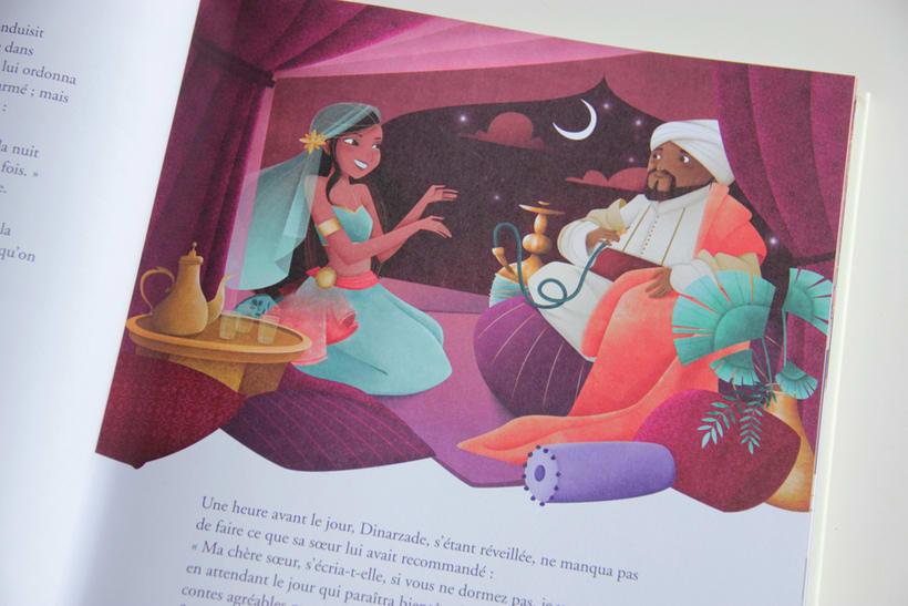 Les plus beaux contes des 1001 nuits - AUZOU 3