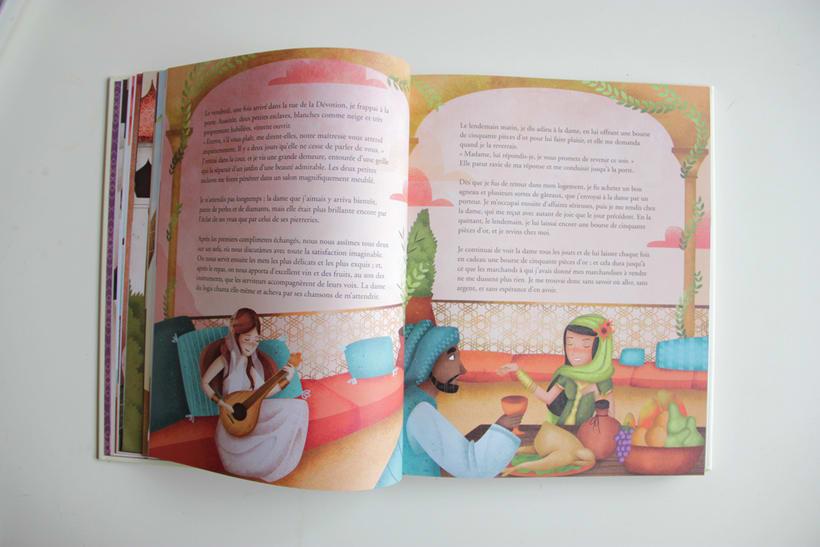 Les plus beaux contes des 1001 nuits - AUZOU 9