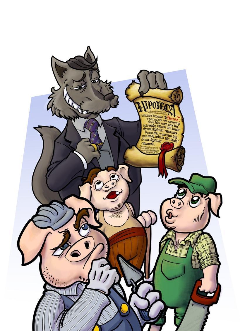 Ilustración cuentos infantiles 2