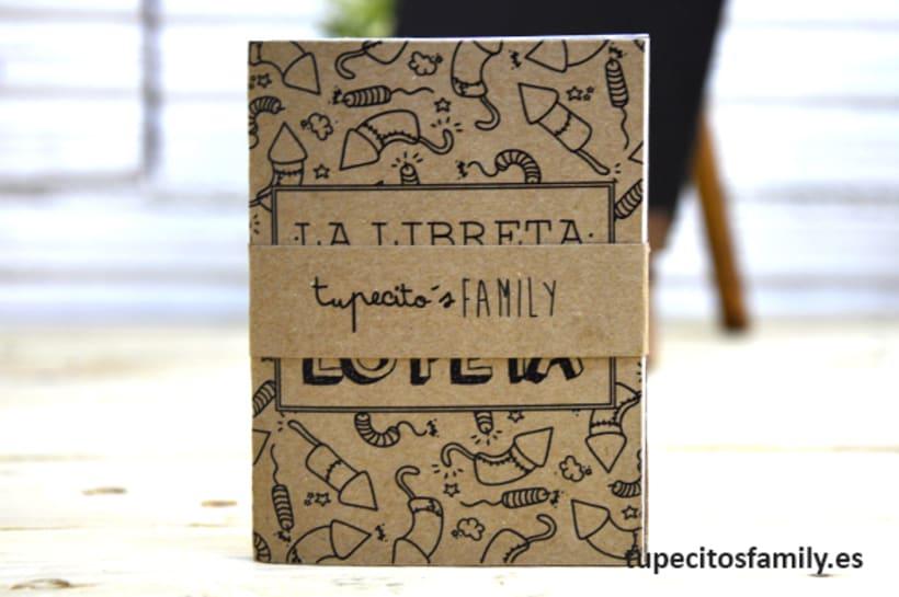 Mini libretas para mamá Tupecito´s Family -1