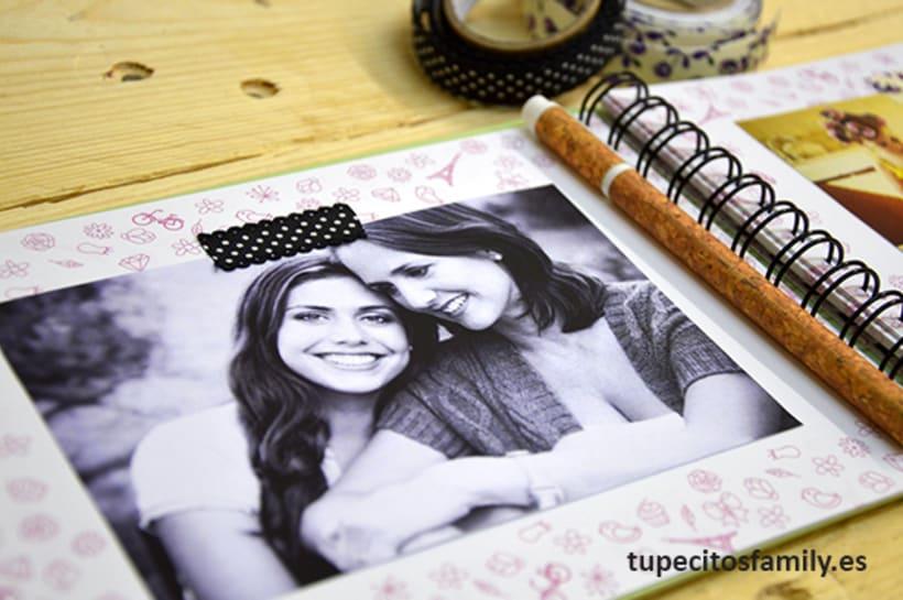 Álbum de fotos para mamá Tupecito´s Family 2