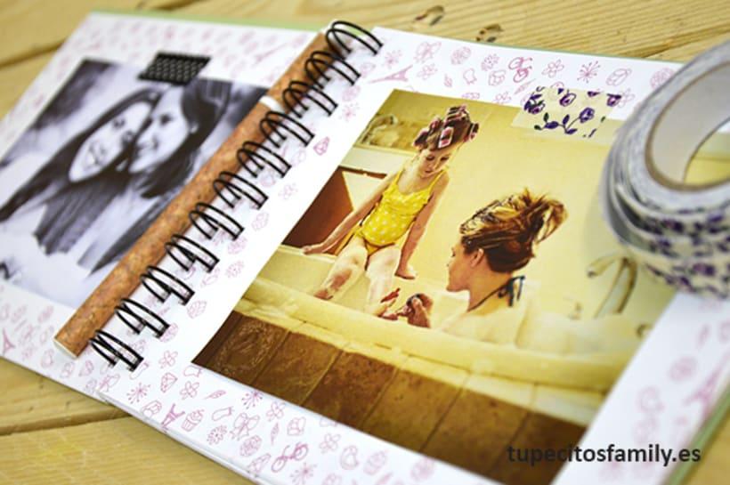 Álbum de fotos para mamá Tupecito´s Family 3