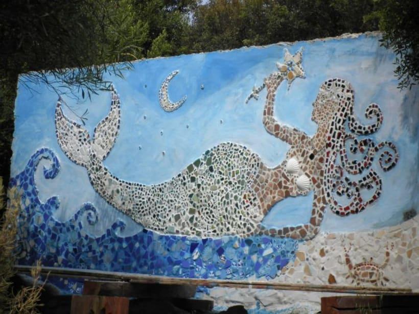 Mosaico La Sirena 1