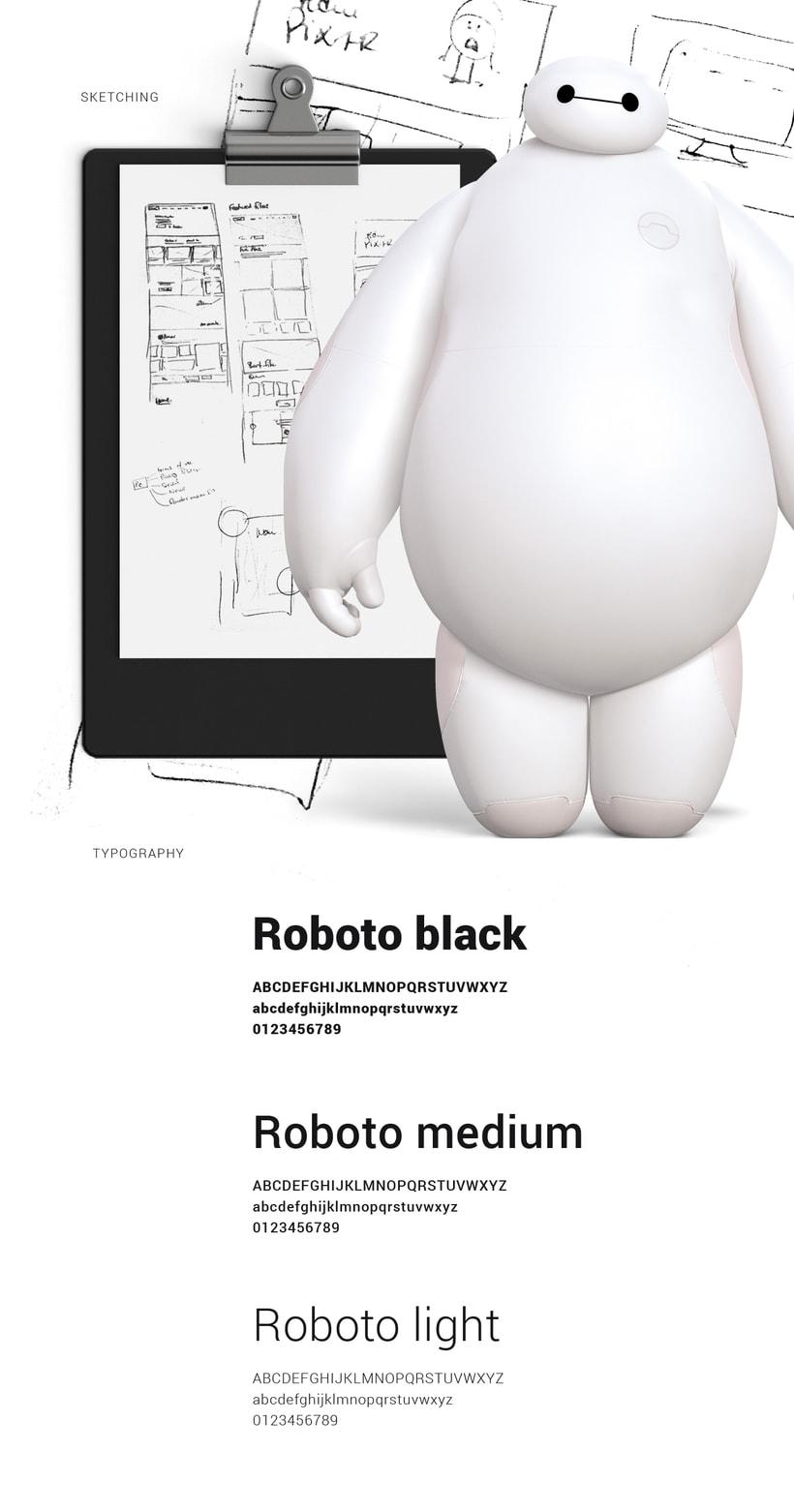 Pixar Redesign Concept 1