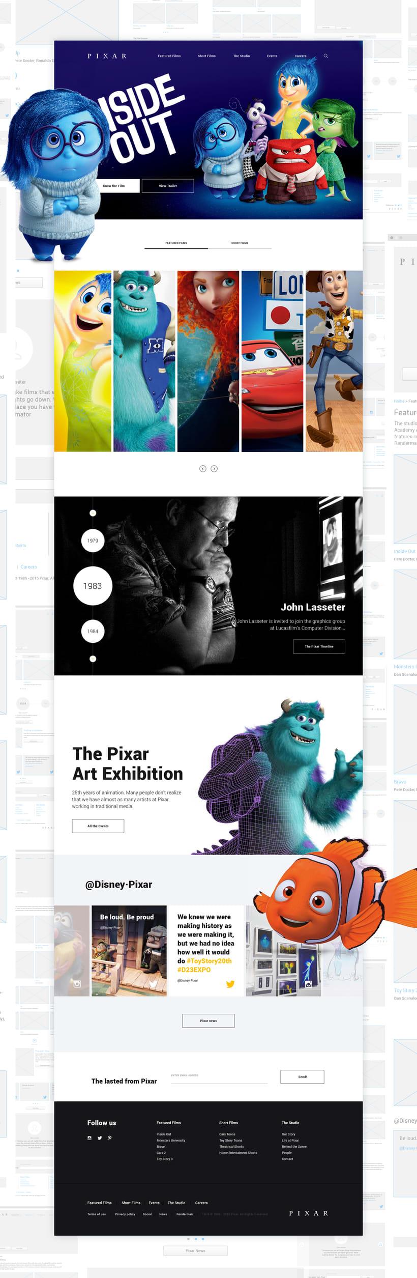 Pixar Redesign Concept 2
