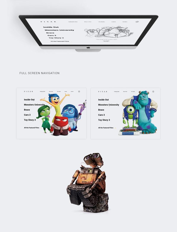 Pixar Redesign Concept 3