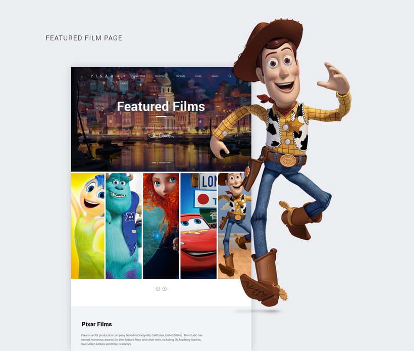 Pixar Redesign Concept 5
