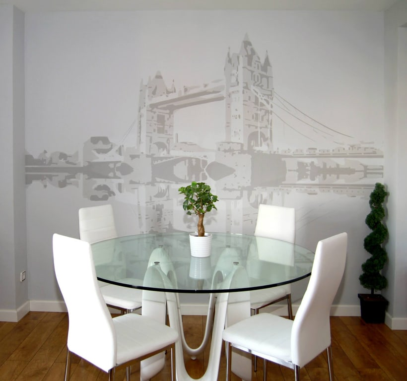 "Mural ""Tower Bridge"" 3"