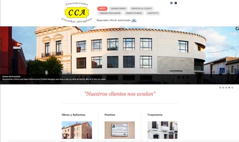 WEB Construcciones Cristobal Abengozar -1