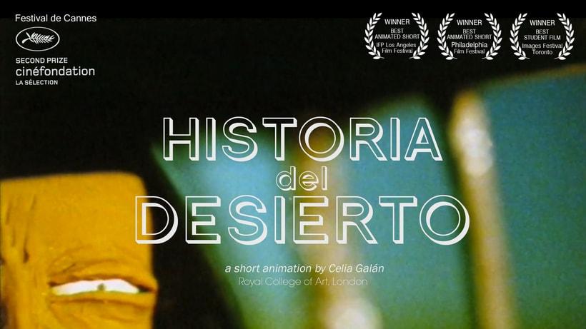 Historia del desierto - corto animación stop motion 0