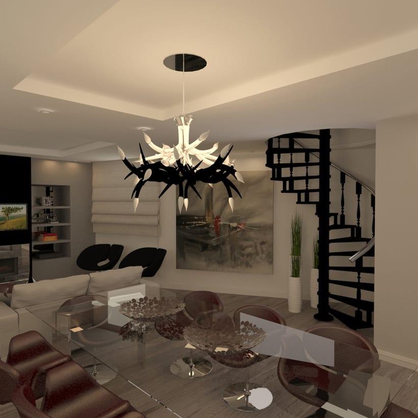 Proyectos de interiores y exteriores con 3d max y Vray  0